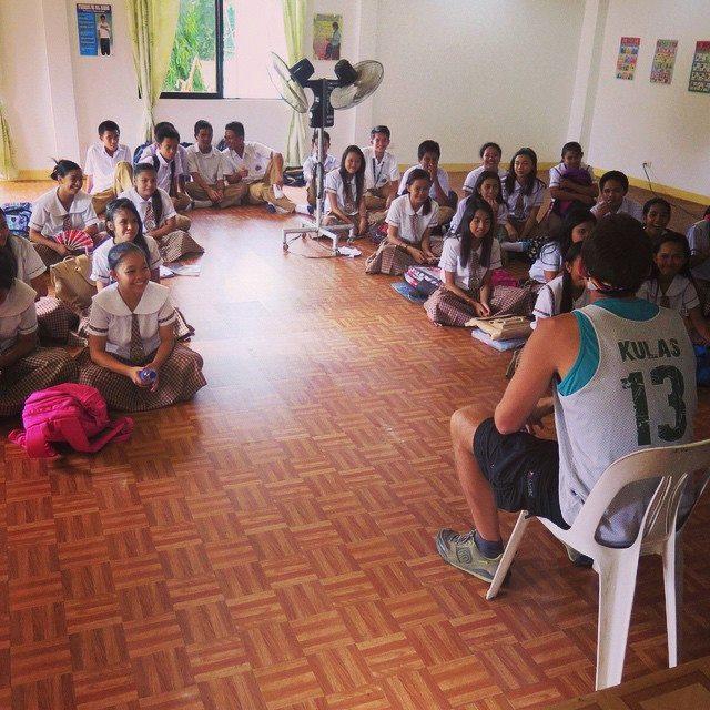 High School Class in Cabatuan, IloIlo