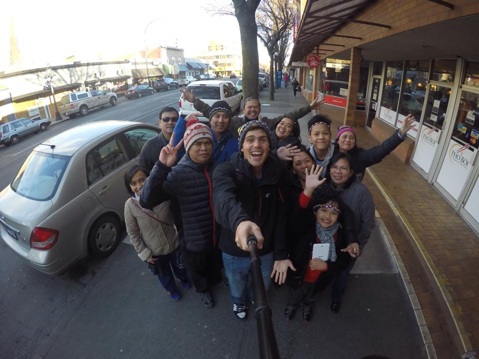 Sharing Happiness with Filipinos in Victoria, Canada.